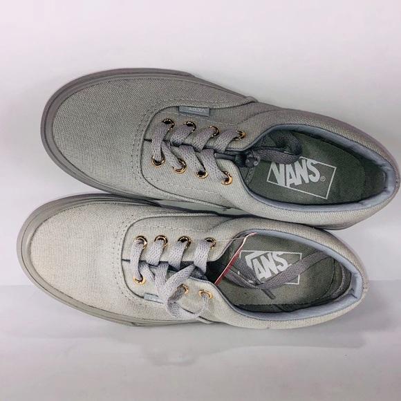 09c1187427 VANS Era Gold Mono High Rise Grey Skateboard Shoe